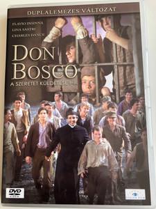 Don Bosco 2xDVD 2004 A szeretet küldetése I-II / Directed by Ludovico Gasparini, Starring: Flavio Insinna, lina Sastri, Charles Dance, Michael Finerty (5999885039029)