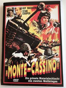 Monte-Cassino DVD 1969 Battle of the Last Panzer / Directed by José Luis Merino / Starring: Guy Madison, Stan Cooper / Die grösste Materialschlach des zweiten Weltkrieges (4260057817785)