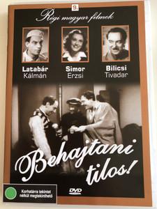 Behajtani tilos! DVD 1941 No entry / Directed by Martonffy Emil / Starring: Latabár Kálmán, Bilicsi Tivadar, Simor Erzsi / Régi magyar filmek 9. (5999882685083)