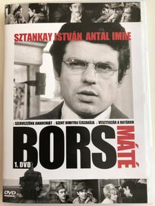 Bors 1. DVD 1968 Bors Máté / Directed by Herskó János / Sztankay István, Antal Imre, Rajz János, Madaras József / Hungarian TV Series / Episodes 1-3 (5990502068880)