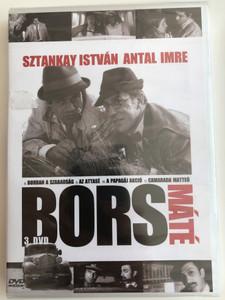 Bors 3. DVD 1968 Bors Máté / Directed by Herskó János / Sztankay István, Antal Imre, Rajz János, Madaras József / Hungarian TV Series / Episodes 8-11 (5990502068903)