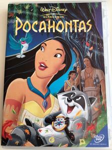Pocahontas (1995) DVD Disney klasszikus / Directed by Mike Gabriel, Eric Goldberg / Starring: Irene Bedard, Mel Gibson, David Ogden Stiers, John Kassir, Russell Means (Copy of 5996514012705)