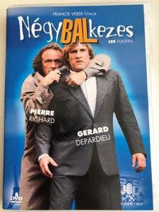 Les Fugitifs DVD 1986 Négy Balkezes / Directed by Francis Veber / Starring: Pierre Richard, Gerard Depardieu (5999544250369)