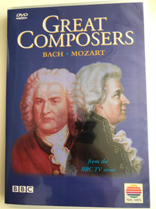 Great Composers DVD Bach - Mozart - From the BBC TV Series / Directed by James Runcie, Francesca Kemp / Andr's Schiff, Joanna MacGregor, John Eliot Gardiner, Sir Georg SoltiNVC Arts (0685738807123)