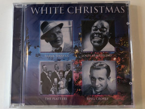 White Christmas / Frank Sinatra, Louis Armstrong, The Platters, Bing Crosby / Bellevue Entertainment Audio CD 2000 / 12043-2