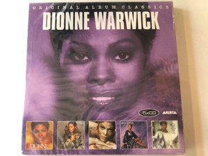Dionne Warwick – Original Album Classics / Sony Music 5x Audio CD, Box Set 2016 / 88985353992
