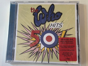 The Who – Hits 50! / 21-track compilation of classic who hits / Digitally Remastered / Features the brand new track ''Be Lucky'' / Polydor Audio CD 2014 / 3794046