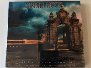 Uriah Heep – Official Bootleg Volume II - Live In Budapest Hungary 2010 / Ear Music 2x Audio CD 2010 / 0205778ERE