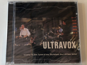 Ultravox / Including: I'm Alive, System of Love, True Believer, Give It All Back, Unified / Falcon Neue Medien Audio CD 2001 / 3938