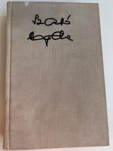 Alvók futása - Zeusz küszöbén by Szabó Magda / Magvető - Szépirodalmi könyvkiadó 1976 / Two novels in Hungarian / Hardcover / MA 5601-59 5602-55 / SZ2520-h-7677 (9632703111)