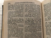 Új testamentom és a zsoltárok - Átdolgozott / Antique Hungarian New Testament & Psalms - 1911 print / Karoli - translation / British & Foreign Bible Society / Pocket size (HunNT&Psalms1911)