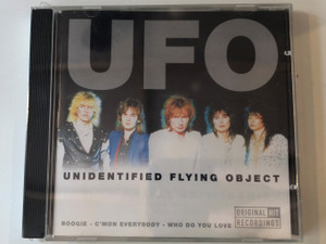 UFO – Unidentified Flying Object / Boogie, C'mon Everybody, Who Do You Love / Original Hit Recordings / Wise Buy Audio CD 1998 / WB 885952