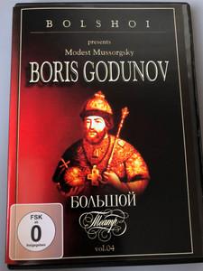 Bolshoi presents Modest Mussorgsky - Boris Godunov DVD 1978 / Болшои Театр VOL 04 / ABC Entertainment - Zyx Music / CLA DVD 04 (090204814497)