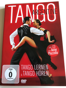 Tango Argentine DVD 2010 Tango Lernen & Tango Hören / Includes CD Astor Piazzolla / Listen and Learn Tango - German release / Zyx Music DVD 2119 (090204783533)