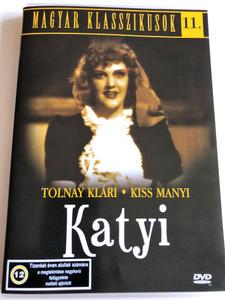 Katyi DVD 1942 / Directed by Ákos Ráthonyi / Starring: Tolnay Klári, Kiss Manyi / Magyar Klasszikusok 11. (5999544560239)