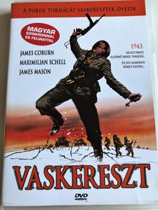 Vaskereszt - Cross of Iron DVD 1977 / Directed by Sam Peckinpah / Starring: James Coburn, Maximilian Schell, James Mason and David Warner (Copy of 5999016344275.)