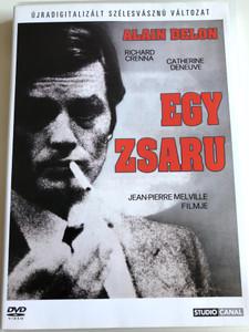 Un flic DVD 1971 Egy zsaru / Directed by Jean-Pierre Melville / Starring: Alain Delon, Richard Crenna, Catherine Deneuve (5999546330120)
