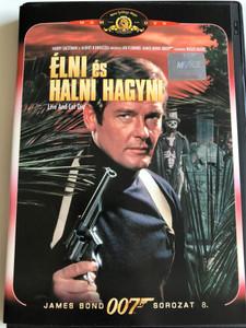 James Bond 007 - Live and let die DVD 1973 Élni és halni hagyni / Directed by Guy Hamilton / Starring: Roger Moore, Yaphet Kotto, Jane Seymour (5996255704693)