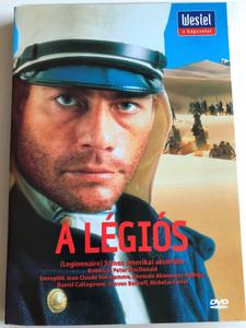 Legionnaire DVD 1998 A Légiós / Directed by Peter MacDonald / Starring: Jean Claude Van Damme, Abewale Akinnuoye-Agbaje Steven Berhoff (LegionnaireDVD)