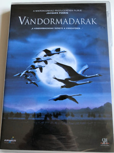 Le Peuple migrateur DVD 2001 Vándormadarak / Directed by Jacques Perrin / Winged Migration - documentary about migratory birds (WingedMigrationDVD)