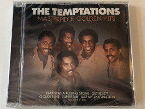 The Temptations ‎– Masterpiece-Golden Hits / Papa Was A Rolling Stone, Get Ready, Cloude Nine, Superstar, Just My Imagination and many others / Eurotrend Audio CD / CD 142.018