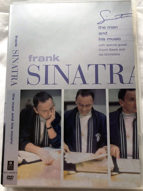 Frank Sinatra DVD A man and his music With special guests Count Basie and his orchestra / Directed by Clark Jones / Music Arranged and Conducted by Don Costa (685738405923)