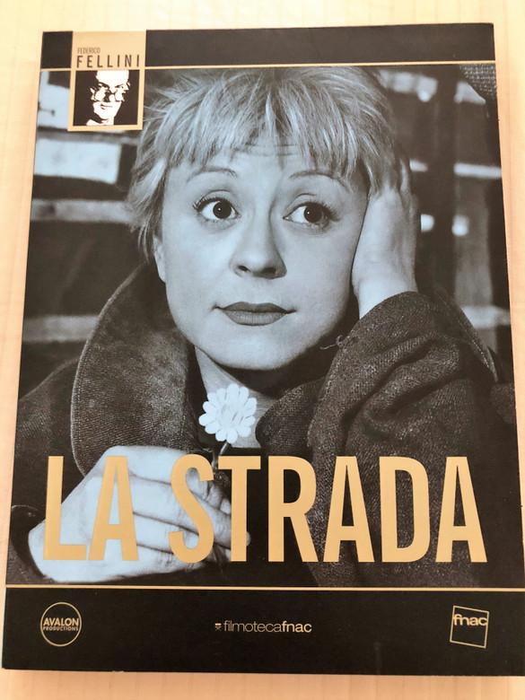 La Strada DVD 1954 The Road / Directed by Federico Fellini / Starring: Giulietta Masina, Anthony Quinn, Richard Basehart / Spanish DVD Release (8437006068192)