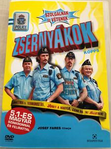 Kopps DVD 2003 Zsernyákok - szolgálnak és vétenek / Directed by Josef Fares / Starring: Fares Fares, Torkel Petersson, Göran Ragnerstam, Sissela Kyle (5999551920606)