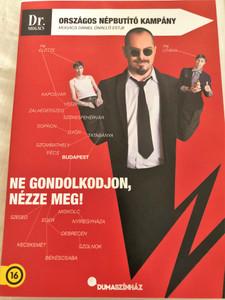 Dr. Mogács Országos Népbutító Kampány DVD Dumaszínház / Directed by Marton István / Starring: Mogács Dániel - Hungarian Stand Up Comedian (5996514024609)
