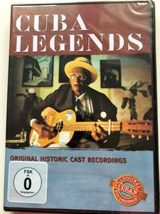 Cuba Legends DVD 2006 Original Historic Cast Recordings / Buena Vista Social Club, Celina Gonzales, Elena Burke, Pacho Alonso, El Guayabero / Delta Music (4006408941705)