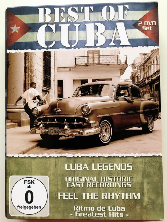 Best of Cuba 2 DVD SET 2011 / Cuba Legends - Original historic Cast Recordings - Feel The Rhythm - Ritmo de Cuba / Delta entertainment (4049774481598)