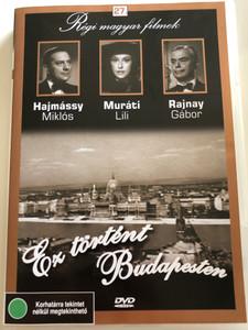Ez történt Budapesten DVD 1944 This Happened in Budapest / Directed by Hamza D. Ákos / Starring: Hajmássy Miklós, Muáti Lili, Rajnay Gábor / Régi magyar filmek 27. (5999882685267)