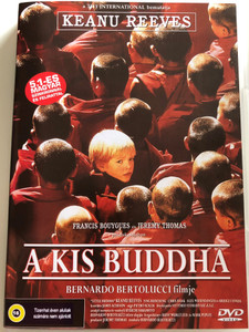 A kis Buddha - Little Buddha DVD 1993 / Directed by Bernardo Bertolucci / Starring: Keanu Reeves, Bridget Fonda, Chris Isaak, Ying Ruocheng (5999553601169)
