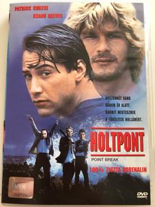Point break DVD 1991 Holtpont / Directed by Kathryn Bigelow / Starring: Patrick Swayze, Keanu Reeves (5996255701609)