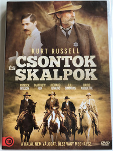 Bone Tomahawk DVD 2015 Csontok és Skalpok / Directed by S. Craig Zahler / Starring: Patrick Wilson, Matthew Fox, Richard Jenkins, Lili Simmons, David Arquette (5999546337990)