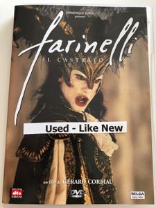 Farinelli - il Castrato DVD 1994 / Directed by Gérard Corbiau / Starring: Stefano Dionisi, Enrico Lo Verso, Elsa Zylberstein (5412370832757)