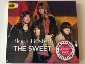 Block Buster! - The Sweet / The Masters Collection / Block Buster!, Wig Wam Bam, Ballroom Blitz, Hell Raiser, Poppa Joe, Daydream / BMG 2x Audio CD 2018 / BMGCAT277DCD