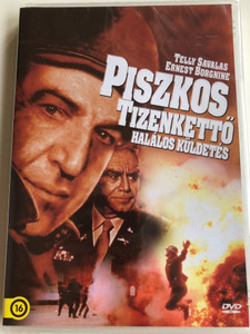 "The Dirty Dozen: The Deadly Mission DVD 1987 Piszkos Tizenkettő - Halálos küldetés / Directed by Lee H. Katzin / Starring: Telly Savalas, Ernes Borgnine, Randall ""Tex"" Cobb (5999546336924)"