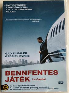 Le Capital DVD 2012 Bennfentes Játék / Directed by Costa-Gavras / Starring: Gabriel Byrne, Gad Elmaleh, Bernard Le Coq, Natacha Régnier (5999546336450)
