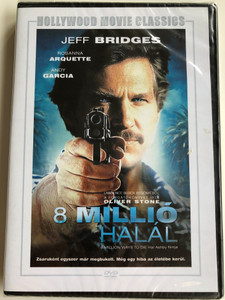 8 Million ways to die DVD 8 millió halál / Directed by Hal Ashby / Starring: Jeff Bridges, Rosanna Arquette, Andy Garcia (5999546334371)