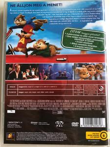 Alvin and the Chipmunks - The Road Chip DVD 2015 Alvin és a mókusok - A mókás menet / Directed by Walt Becker / Starring: Jason Lee, Tony Hale, Kimberly Williams-Paisley, Josh Green, Bella Thorne, Justin Long (8590548600616)