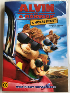 Alvin and the Chipmunks - The Road Chip DVD 2015 Alvin és a mókusok - A mókás menet / Directed by Walt Becker / Starring: Jason Lee, Tony Hale, Kimberly Williams-Paisley, Josh Green, Bella Thorne, Justin Long (8590548600616)