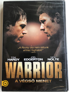 Warrior DVD 2011 A végső menet / Directed by Gavin O' Connor / Starring: Joel Edgerton, Tom Hardy, Jennifer Morrison, Frank Grillo (5999075600428)