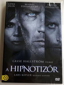 The Hypnotist DVD 2012 A hipnotizőr (Hypnotisören) / Directed by Lasse Hallström / Starring: Tobias Zilliacus, Mikael Persbrandt, Lena Olin (5999546337877)