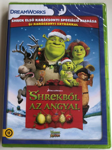 Shrek the Halls DVD 2007 Shrekből az angyal / Directed by Gary Trousdale / Starring: Mike Myers, Eddie Murphy, Cameron Diaz, Antonio Banderas (8596978600301)