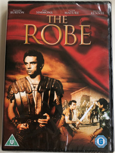 The Robe DVD 1953 / Directed by Henry Koster / Starring: Richard Burton, Jean Simmons, Victor Mature, Michael Rennie (5039036050838)
