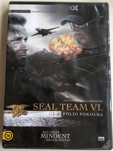 SEAL Team VI - Journey into Darkness DVD 2008 Seal Team 6. Út a földi pokolba / Directed by Mark C. Andrews / Starring: Jeremy Davis, Ken Gamble, Zach McGowan, Neto Depaula (5999544237858)