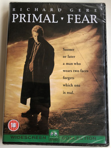 Primal fear DVD 1996 / Directed by Gregory Hoblit / Starring: Richard Gere, Laura Linney, John Mahoney, Alfre Woodard (5014437812339)