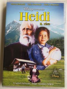 Heidi II. DVD 1993 Heidi II. rész / Directed by Michael Ray Rhodes / Starring: Noley Thornton, Jason Robards, Jane Seymour, Jane Hazlegrove, Ben Brazier, Lexi Randall / American TV miniseries part 2 / (5999883203644)