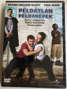 Role Models DVD 2008 Példátlan példaképek / Directed by David Wain / Starring: Seann William Scott, Paul Rudd, Christopher Mintz-Plasse (5996051051120)